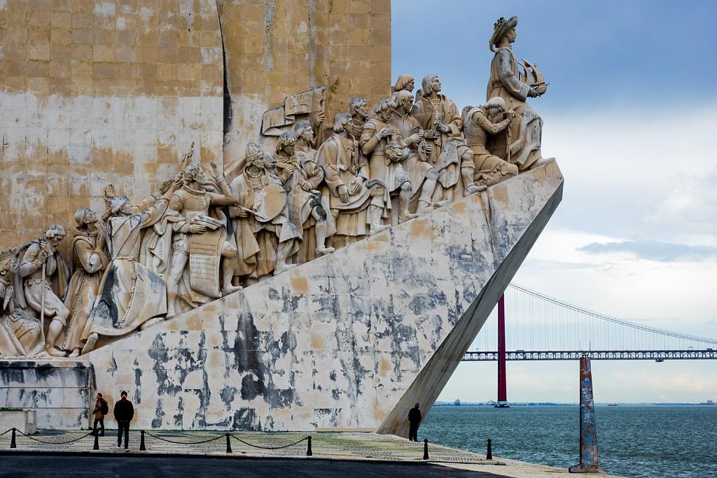 Detalle Monumento a los Descubrimientos