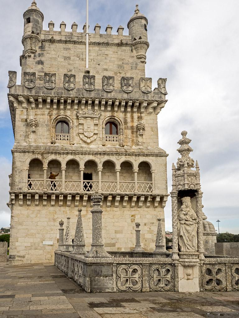 Torre de Belém desde el Baluarte