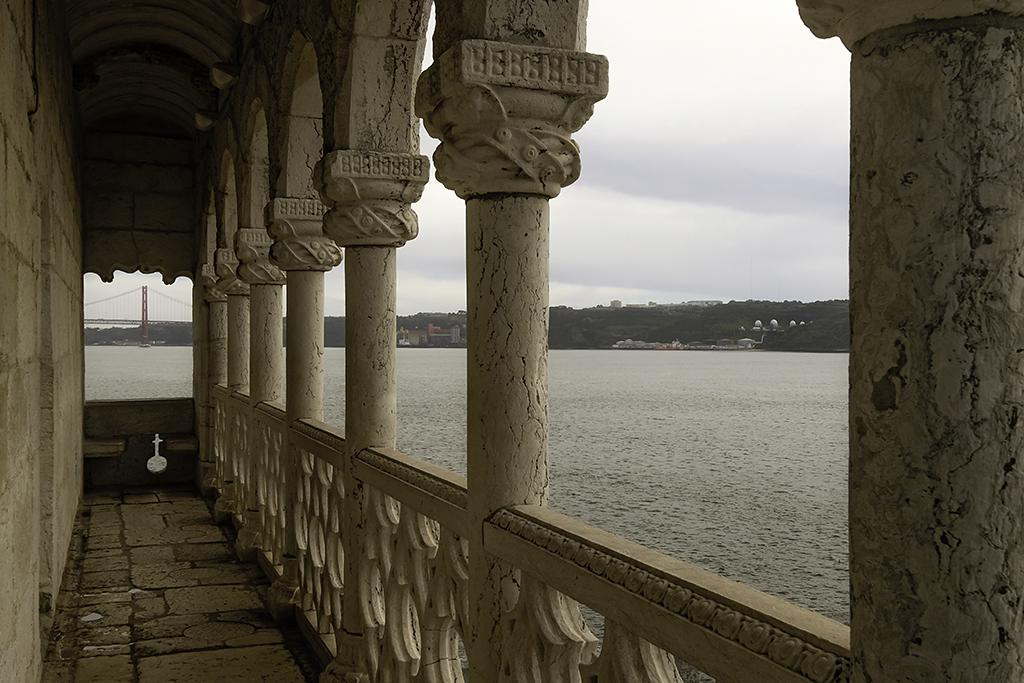 Balcón en la Torre de Belén