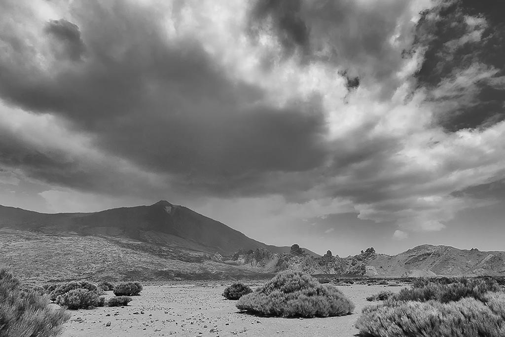Nubes sobre el Teide