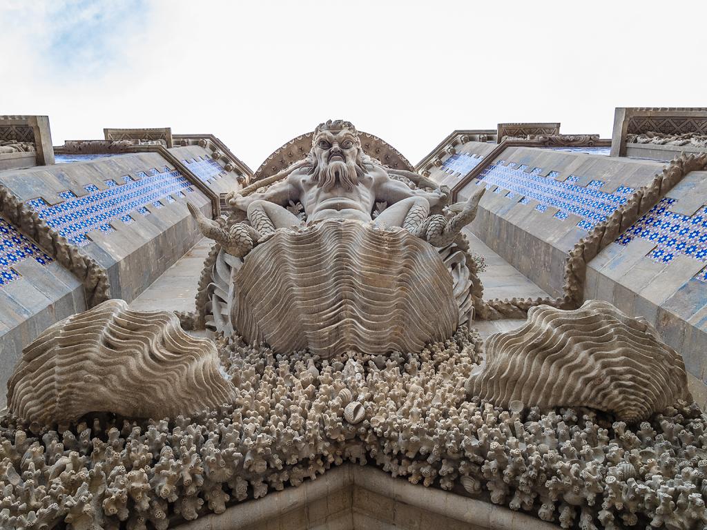 Portico del Tritón, fachada del Palacio da Pena, Sintra