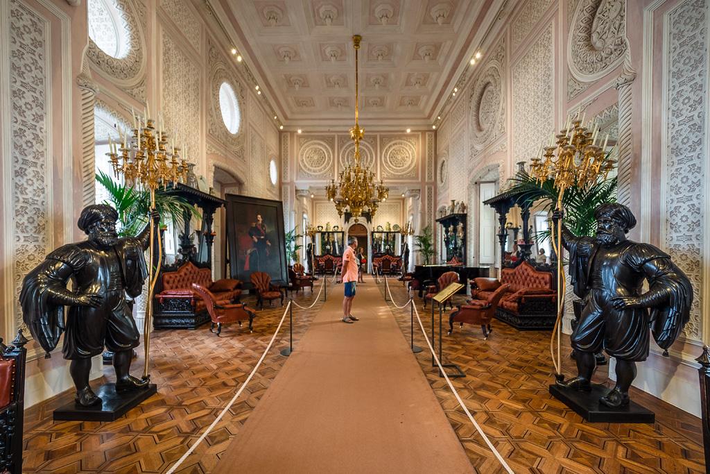 Salón Noble, Palacio da Pena. Sintra