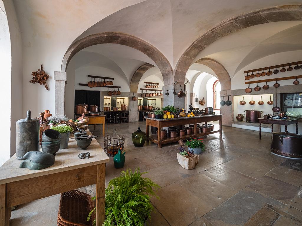 Antiguas cocinas del Palacio da Pena, Sintra
