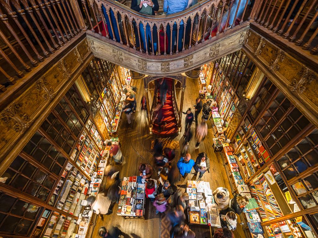 Libreria Lello e Irmão, Oporto