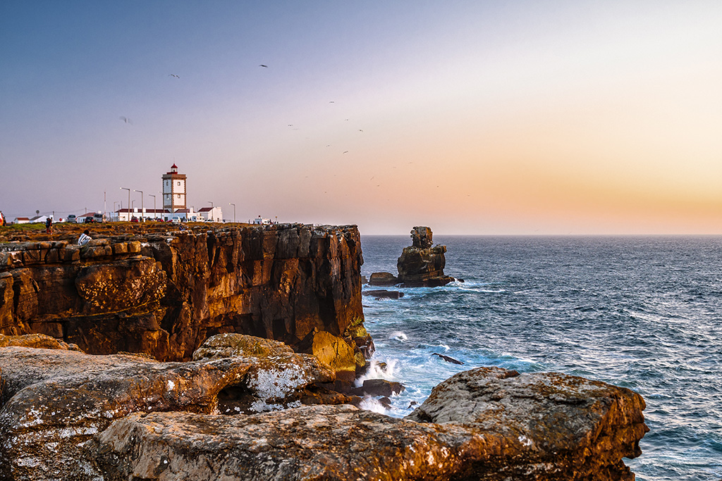 Cabo Carvoeiro at sunset, Peniche, Portugal