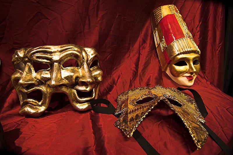 muestrario de máscaras
